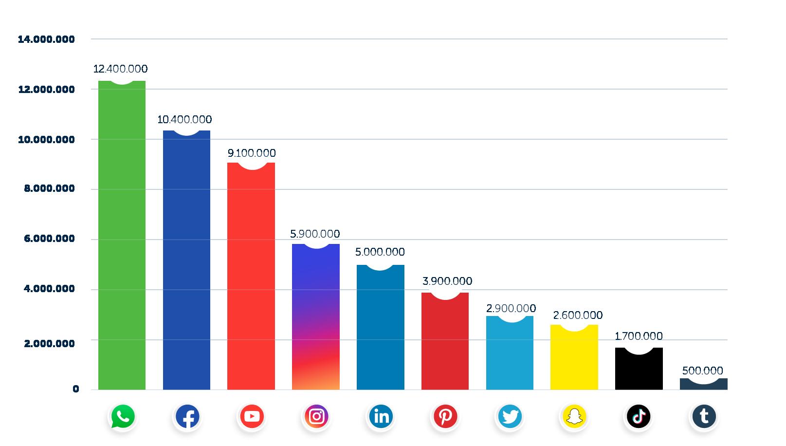 Social statistieken 2021